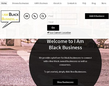 The I AM BLACK BUSINESS APP